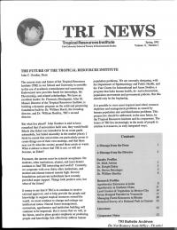 TRI News Vol 11 No 1